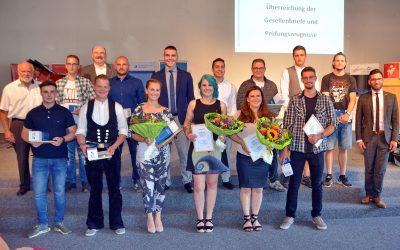 Zentrale Freisprechungsfeier der Kreishandwerkerschaft Lahn-Dill in Herborn